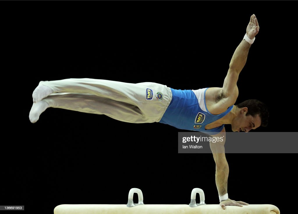 FIG Artistic Gymnastics Olympic Qualification - LOCOG Test Event for London 2012: Day One