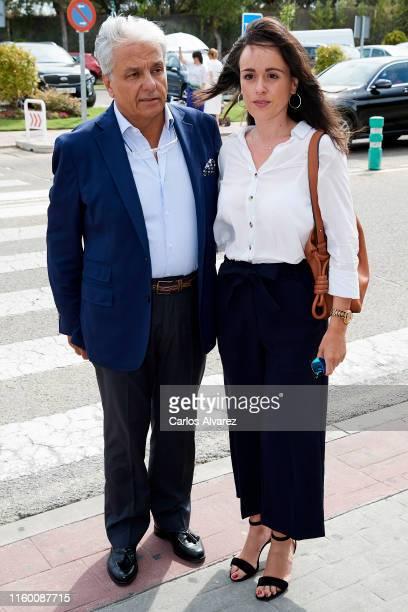 Alberto Closas Jr attends Arturo Fernandez Funeral Chapel at La Paz morgue on July 04 2019 in Madrid Spain