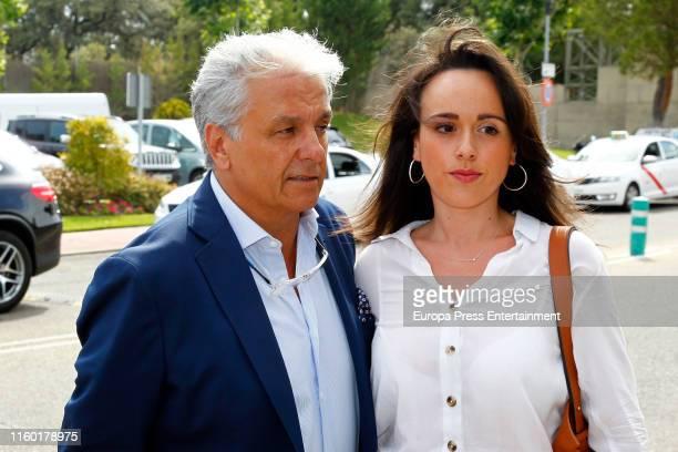 Alberto Closas Jr attends Arturo Fernandez Funeral Chapel on July 04 2019 in Madrid Spain