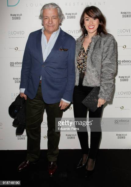 Alberto Closas Jr attends the 'BLoved' restaurant opening photocall at Catalonia hotel on February 15 2018 in Madrid Spain