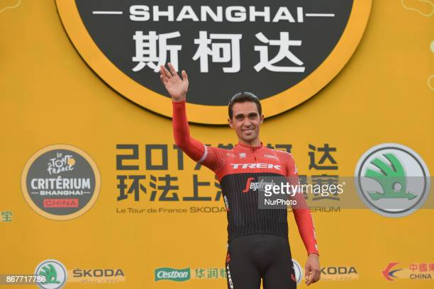 Alberto CONTADOR farewell at the 1st TDF Shanghai Criterium 2017 On Sunday 29 October 2017 in Shanghai China