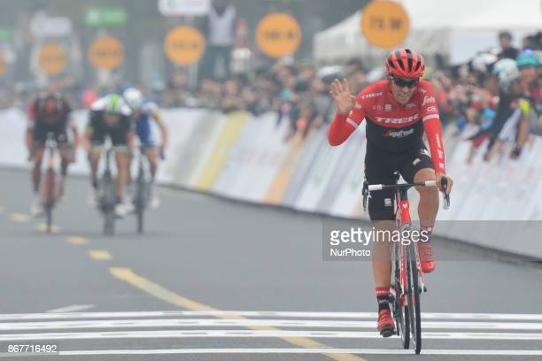 Alberto CONTADOR finishes his last professional race the 1st TDF Shanghai Criterium 2017 On Sunday 29 October 2017 in Shanghai China