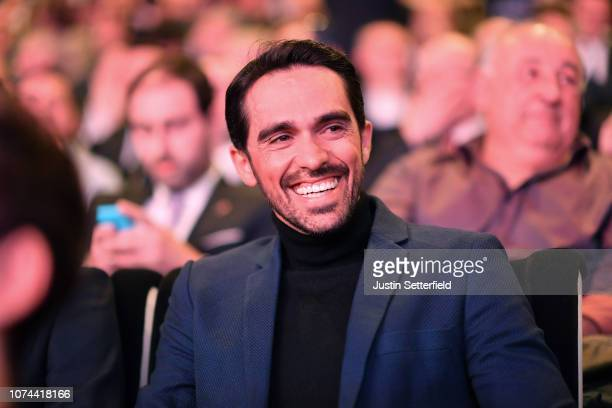 Alberto Contador of Spain Ex Pro-cyclist during the 74th Tour of Spain 2019 - Route Presentation on December 19, 2018 in Alicante, Spain.