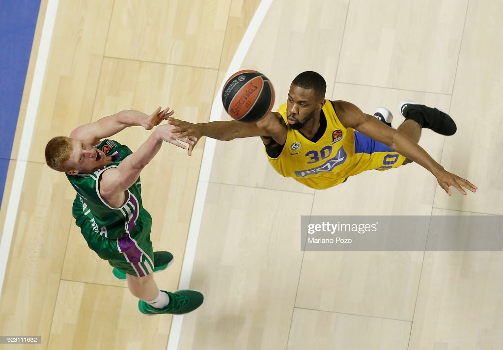 Unicaja Malaga v Maccabi Fox Tel Aviv - Turkish Airlines EuroLeague