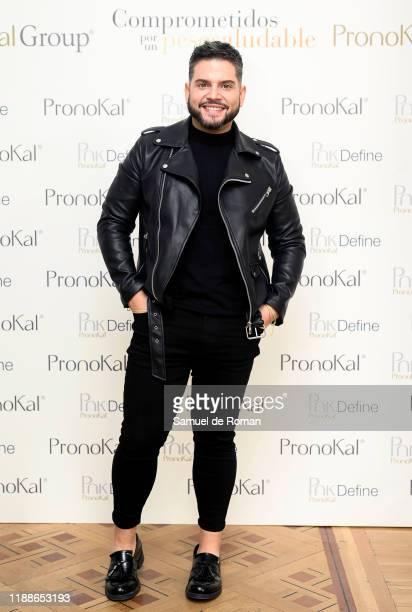 Alberto Dugarte attends PronoKal group presentation in Madrid on November 19 2019 in Madrid Spain