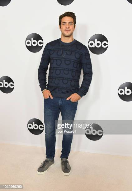Alberto Frezza attends the Disney ABC Television TCA Summer Press Tour at The Beverly Hilton Hotel on August 7 2018 in Beverly Hills California