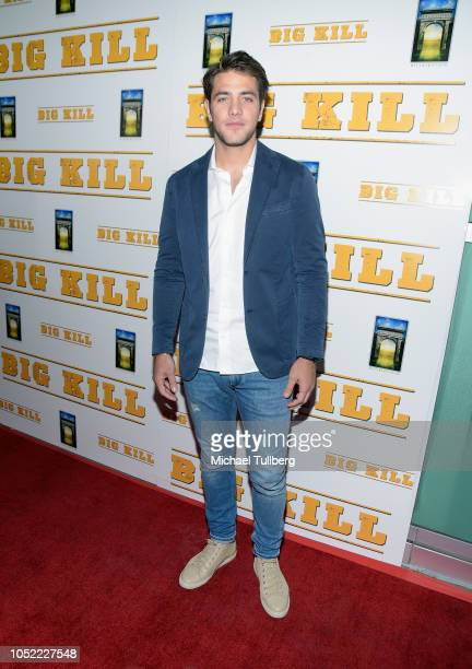 Alberto Frezza attends the world premiere of Archstone Distribution's 'Big Kill' at ArcLight Hollywood on October 15 2018 in Hollywood California