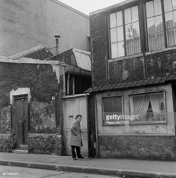 Alberto Giacometti Outside Studio