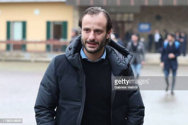 """Alberto Gilardino during the """"Panchina D'Oro Prize"""" award at Centro Tecnico Federale di Coverciano on February 3, 2020 in Florence, Italy."""