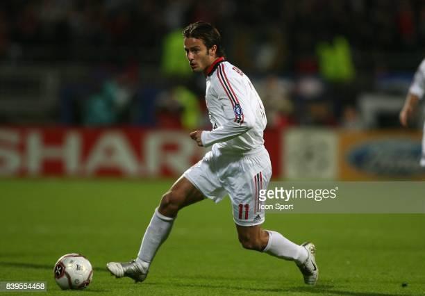 Alberto GILARDINO Lyon / Milan AC 1/4 Finale Champions League 2005/2006