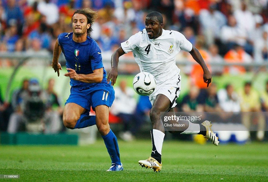 Group E Italy v Ghana - World Cup 2006 : News Photo