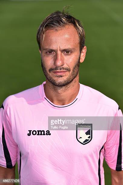 Alberto Gilardino of US Citta' di Palermo poses for the official headshot on September 2 2015 in Palermo Italy