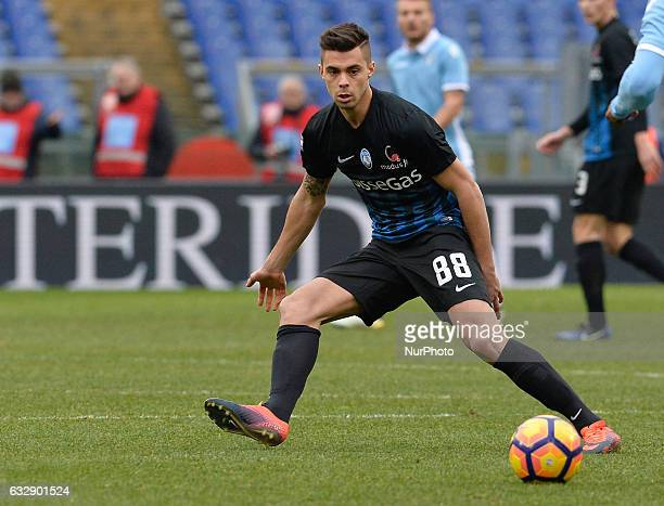 Alberto Grassi during the Italian Serie A football match between SS Lazio and AC Atalanta at the Olympic Stadium in Rome on janaury 15 2017