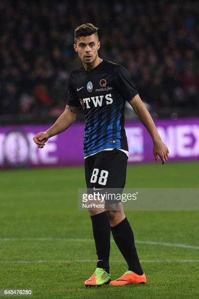 Alberto Grassi of Atalanta BC during the Serie A TIM match between SSC Napoli and Atalanta BC at Stadio San Paolo Naples Italy on 25 February 2017