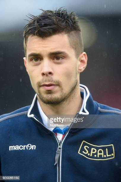 Alberto Grassi of Spal during the Serie A TIM match between SSC Napoli and Spal at Stadio San Paolo Naples Italy on 18 February 2018