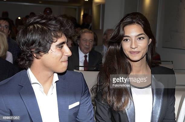 Alberto Herrera Montero and Rocio Herrera Montero attend the launch of Marilo Montero's new book 'El Corazon de las Mujeres No Tiene Reglas' at the...