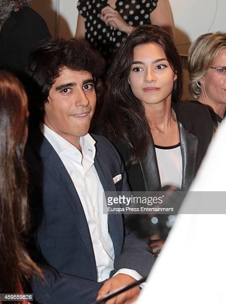 Alberto Herrera Montero and Rocio Herrera Montero attend the launch of their mother Marilo Montero's new book 'El Corazon de las Mujeres No Tiene...