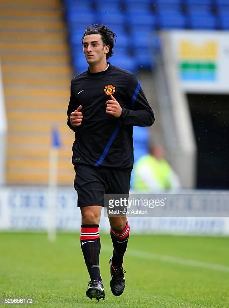 Alberto Massacci of Manchester United