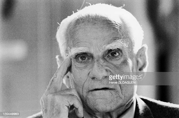 Alberto Moravia in 1983 Italian writer