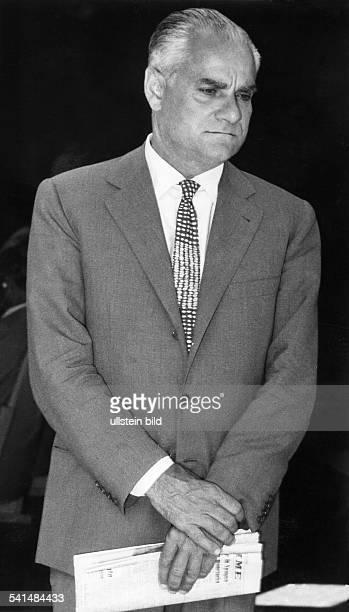 Alberto Moravia writer Italy about 1961