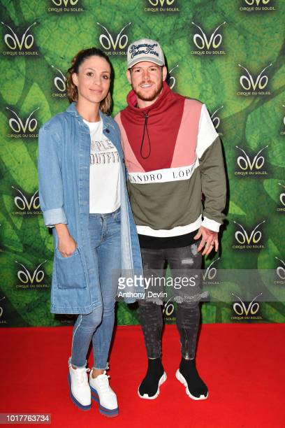 Alberto Moreno attends the Cirque Du Soleil's OVO Premiere at The Liverpool Echo Arena on August 16 2018 in Liverpool England
