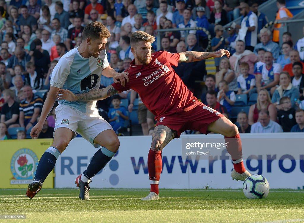 Blackburn Rovers v Liverpool - Pre-Season Friendly