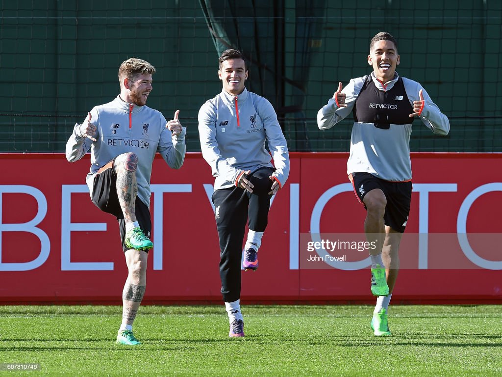 Liverpool Training Session : ニュース写真