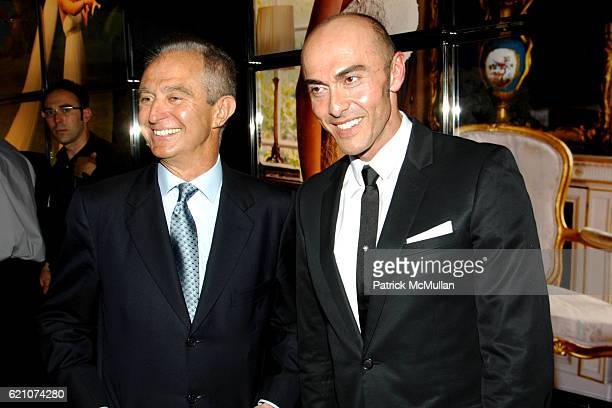 Alberto Palatchi and Manuel Mota attend Pronovias Commemorates the Opening of the NY Flagship Store with New Yorkers For Children at Pronovias on May...