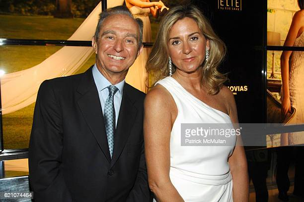 Alberto Palatchi and Susan Palatchi attend Pronovias Commemorates the Grand Opening of the NY Flagship Store with New Yorkers For Children at...