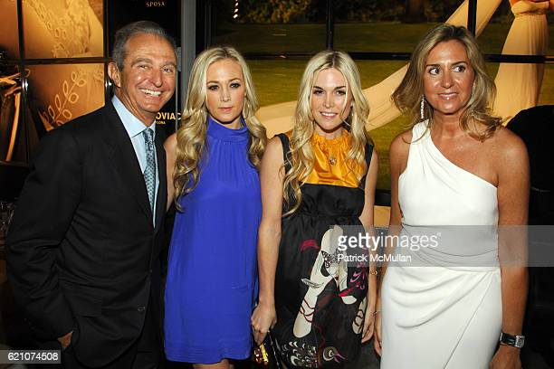 Alberto Palatchi Dabney Mercer Tinsley Mortimer and Susan Palatchi attend Pronovias Commemorates the Opening of the NY Flagship Store with New...