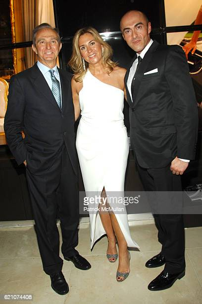 Alberto Palatchi Susan Palatchi and Manuel Mota attend Pronovias Commemorates the Opening of the NY Flagship Store with New Yorkers For Children at...