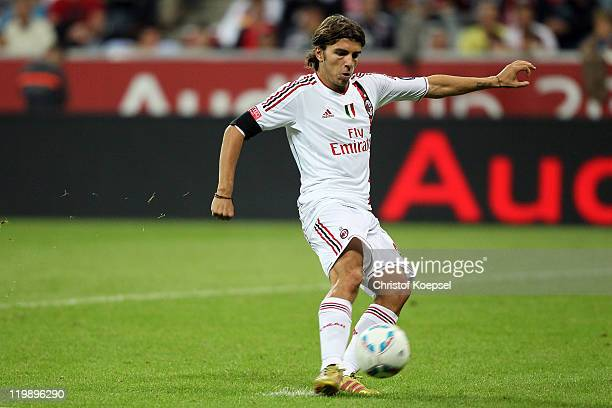 Alberto Paloschi AC Milan failes during the penalty shootout during the Audi Cup match between FC Bayern Muenchen and AC Milan at Allianz Arena on...