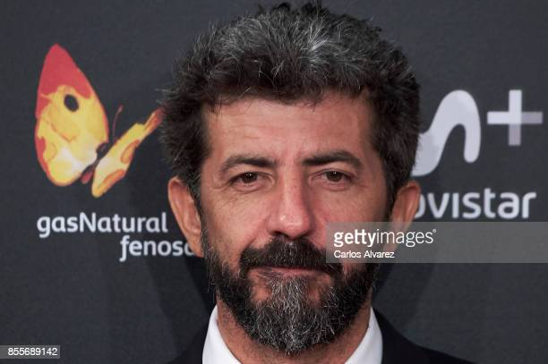 Alberto Rodriguez attends 'La Peste' premiere during the 65th San Sebastian International Film Festival on September 29, 2017 in San Sebastian, Spain.