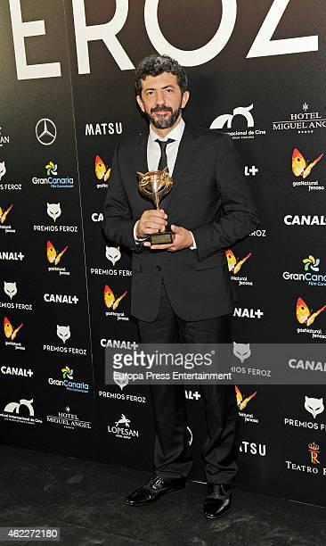 Alberto Rodriguez attends the 2015 'Feroz' Cinema Awards at Gran Teatro Ruedo Las Ventas on January 25, 2015 in Madrid, Spain.