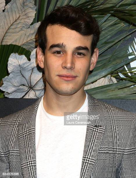 Alberto Rosende attends E ELLE IMG Fashion Week KickOff on February 8 2017 in New York City