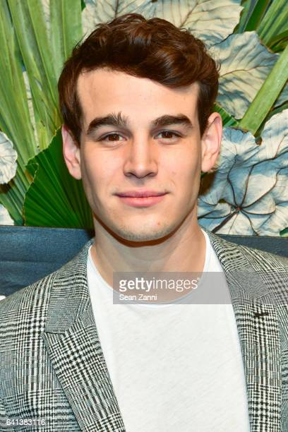 Alberto Rosende attends ELLE E And IMG Host New York Fashion Week February 2017 KickOff Event at 40 Bethune Street on February 8 2017 in New York City