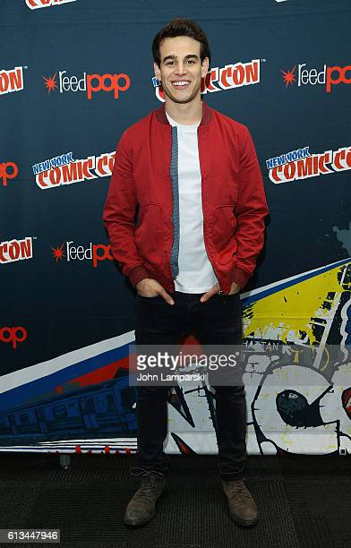 Alberto Rosende attends Shadowhunters press conference during the 2016 New York Comic Con day 3 on October 8 2016 in New York City
