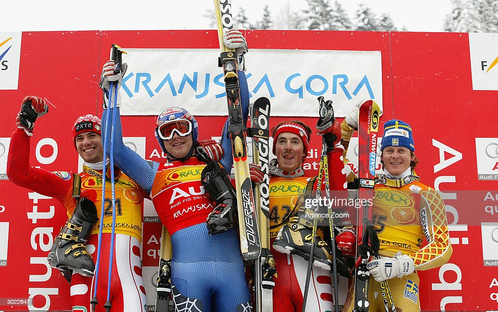 FIS Ski World Cup: Men's Giant Slalom : News Photo