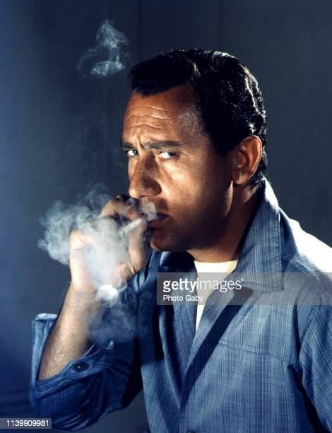 Alberto Sordi Award winning actor director and voice over actor Taken in Rome in 1960