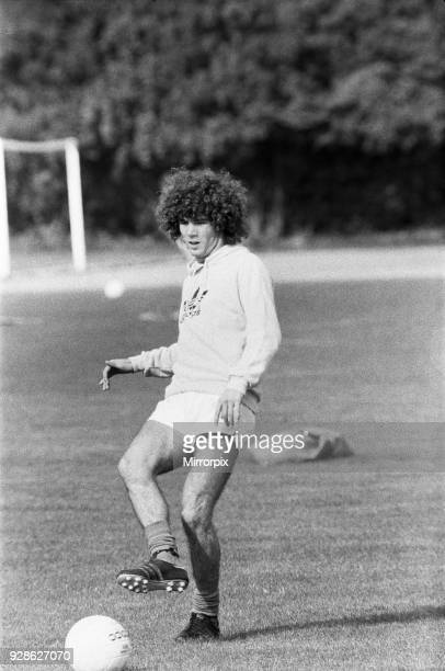 Alberto Tarantini argentinian football player pictured during training session ahead of signing for Birmingham City September 1978