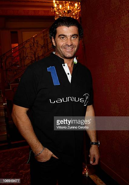 Alberto Tomba attends the Laureus Academy Forum Session 3 held at Hotel Principe Di Savoia on November 18 2010 in Milan Italy