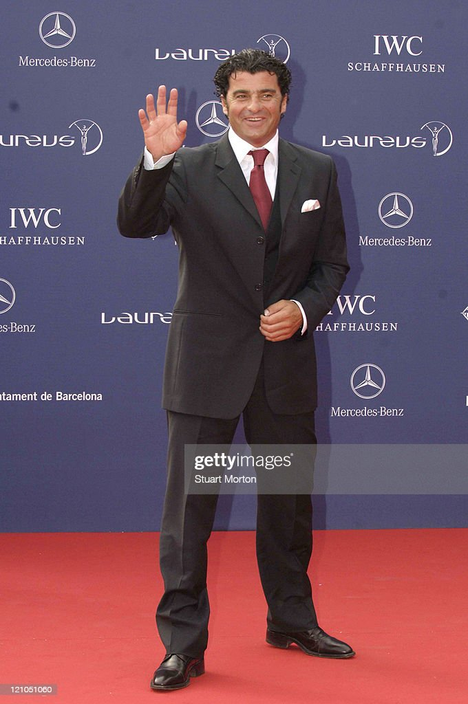 2006 Laureus World Sports Awards  - Red Carpet - Arrivals
