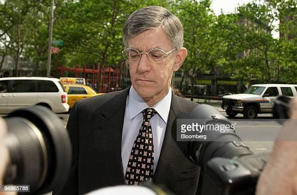 Alberto Vilar arrives at Manhattan federal court for a pretrial hearing Wednesday June 22 New York Vilar founder of Amerindo Investment Advisors Inc...
