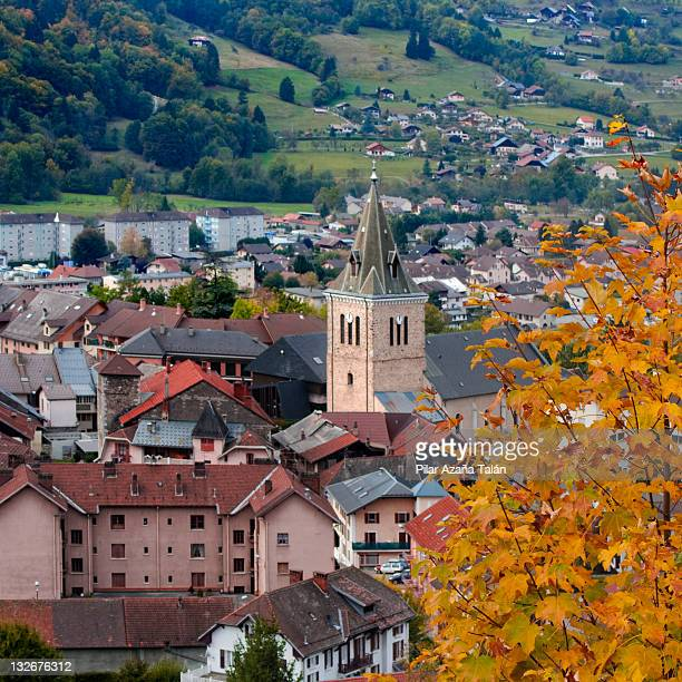 albertville city - albertville france stock pictures, royalty-free photos & images