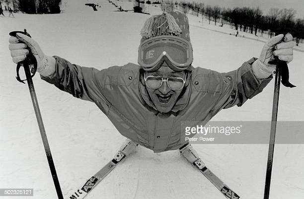 Albertville Me While British reporters ran around France searching for notorious ski jumper Eddie Edwards he was actually at Mans field Ski Resort...