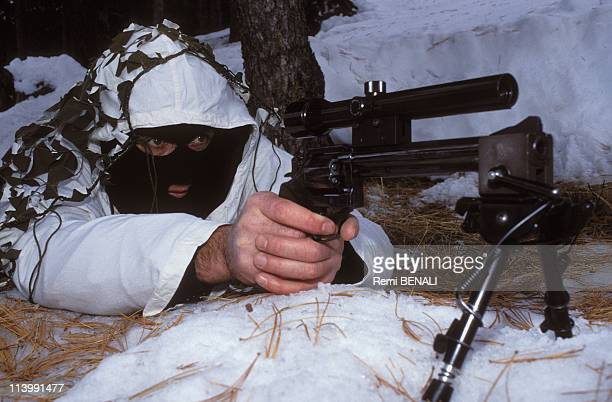 presence of GIGN In Albertville France On January 23 1992