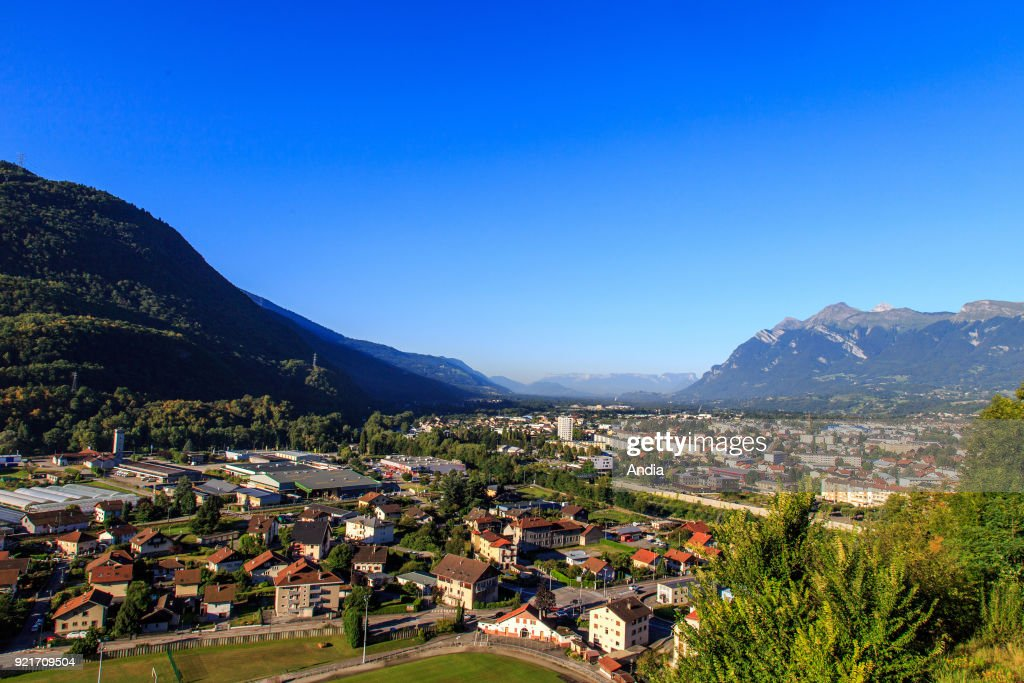 Albertville, view of the city. : News Photo