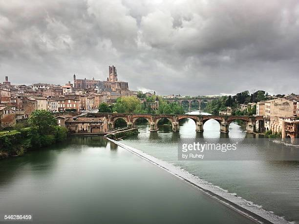 albi, france - st. cecilia stock photos and pictures