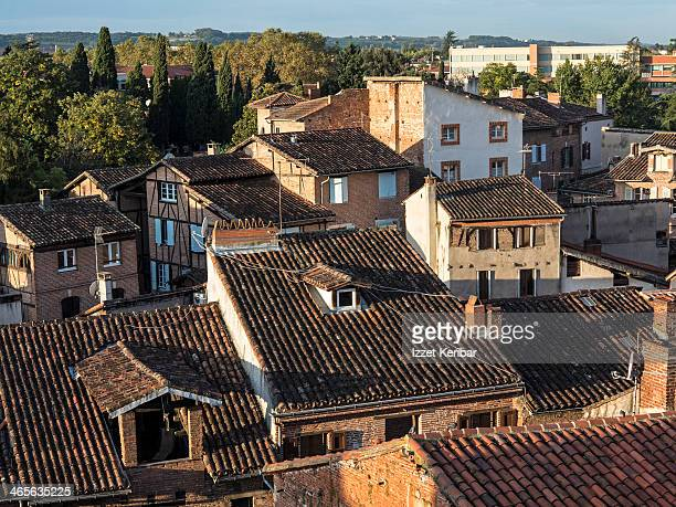 Albi, old houses near the Cathedral