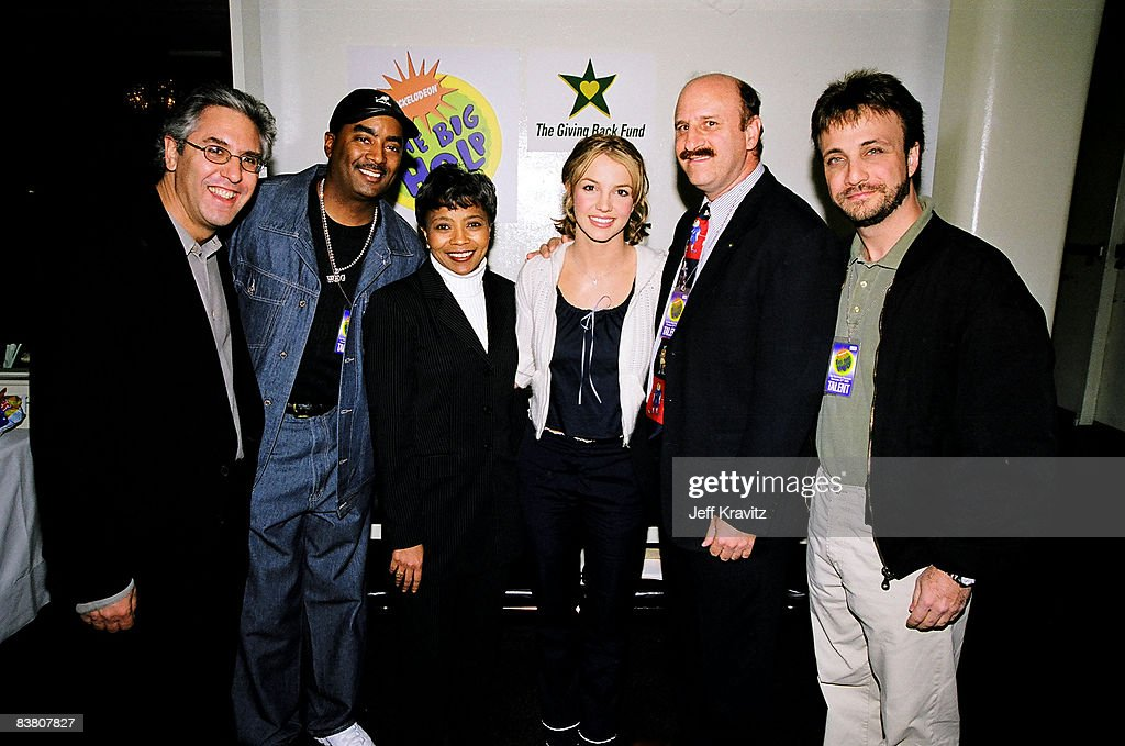 Albie Hecht, Marva Smalls, Britney Spears and Larry Rudolph
